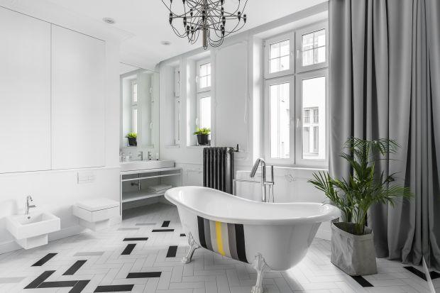 Salon kąpielowy w paryskim stylu. Zobacz jak urządzono łazienkę w starej kamienicy