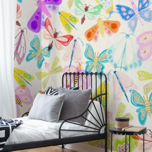 Nowa kolekcja tapet do pokoju dziecka Naive Butterfly