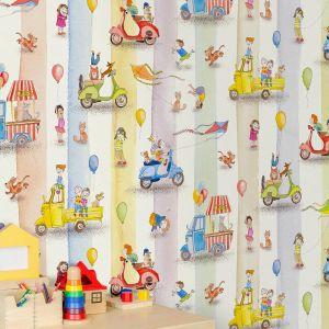 Nowa kolekcja tapet do pokoju dziecka Naive Ride like the wind