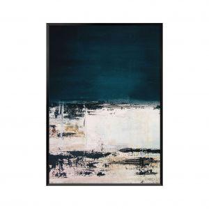 Obraz Abstrakcja podkreśli indywidualny charakter wnętrza w stylu nowoczesnym. Fot. Black Red White