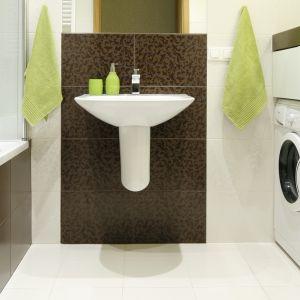 Pralka w łazience:  świetne sposoby na urządzenie. Projekt Marta Kilan