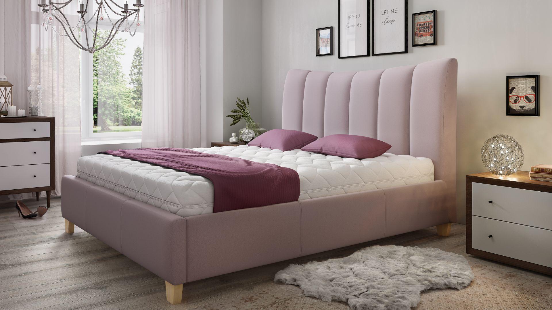 Łóżko tapicerowane Ariel marki Comforteo. Fot. Comforteo