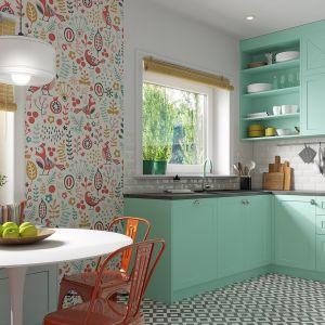 Poczuj miętę do kuchni. Piękna aranżacja w prowansalskim stylu. Fot. Ferro