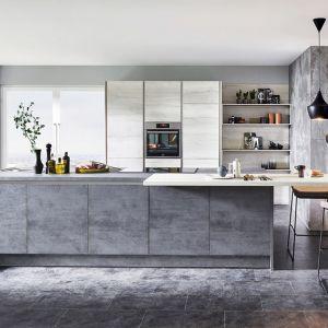 Betonowe inspiracje w kuchni. 12 pomysłów na modne meble. Fot. Verle Kuchen