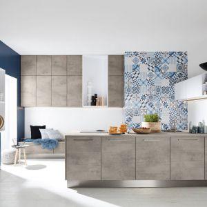 Betonowe inspiracje w kuchni. 12 pomysłów na modne meble. Fot. Nolte Kuchen
