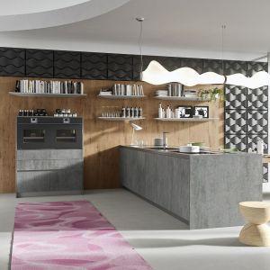 Betonowe inspiracje w kuchni. 12 pomysłów na modne meble. Fot. Rastelli Karan