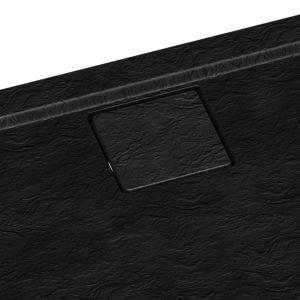 Nowy brodzik Omega Black Stone od Schedpol z innowacyjną, magnetyczną maskownicą