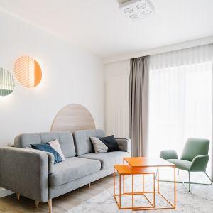Mieszkania na wynajem. Apartament 2 projekt Cechownia. Fot. Pion Studio