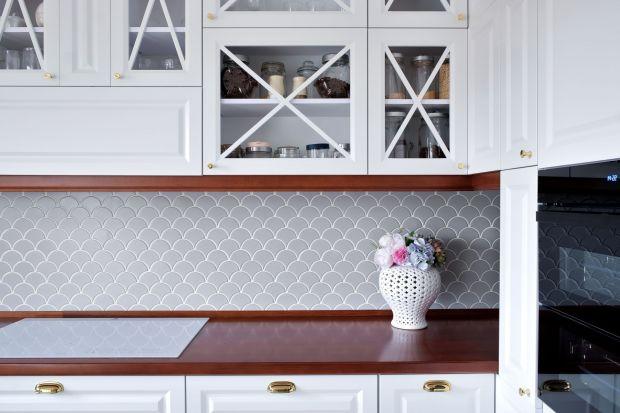 Płytki rybia łuska - nowy trend w kuchni i łazience. Jak wam się podoba?