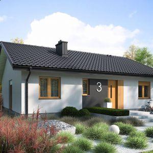 Mini 3 to idealny dom na niewielką działkę.  Dzięki swojej prostej konstrukcji projekt jest szybki i tani w realizacji, a także  ekonomiczny w późniejszym utrzymaniu.  Min. wymiary działki 20.34 x 17.64 m. Szacunkowy koszt budowy: 156 tys. zł (SSZ). Pracownia Archipelag