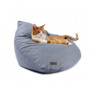 Legowisko dla kota. wypełnienie z kulek silikonowych, obicie można prać w pralce. 349 zł/Cosy&Dozy. Fot. Cosy&Dozy