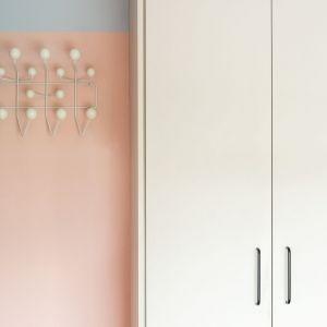 Wieszak w styku vintage -  Hang-it marki Vitra projektu Charlesa & Ray Eames, cena ok 1100 zł. Dom FM, projekt: Mombá Architektura (Argentyna). Zdjęcia: Felipe Lopez