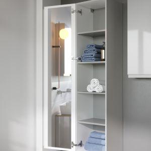 Dobór odpowiednich mebli nie tylko ułatwi utrzymanie porządku i czystości w łazienki, lecz również wpłynie na optyczne powiększenie przestrzeni - od 149 zł za element. Fot. Cersanit
