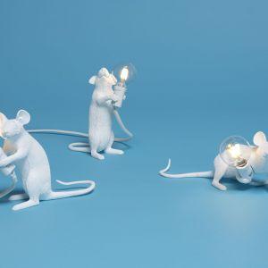 Lampy Mouse. Producent: Seletti. Projekt: Marcantonio. Od 298 zł (wersja z białą żarówką)