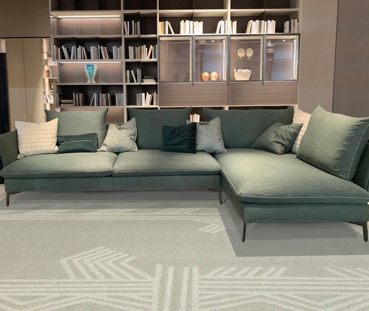 Carpet Edition kolekcja Siamo Tutti Uno projekty Kyrin, Urihi kolor Natural Grey