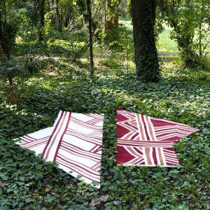 Carpet Edition kolekcja Siamo Tutti Uno projekty Urihi Red, Kyrin White
