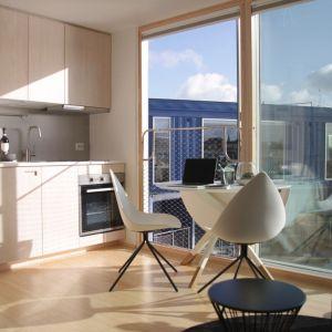 Studencki projekt mieszkaniowy Urban Rigger® został  opracowany we współpracy z duńskimi architektami Bjarke Ingels Group (BIG). Fot. BoConcept