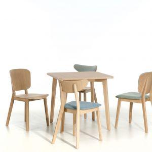 Krzesło Lof (Paged Meble). występuje w wersji twardej lub z tapicerowanym siedziskiem w tkaninie lub skórze. Projekt: Tomek Rygalik. Od 567 zł, Paged/Euforma.pl
