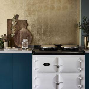 Użyta farba: Aubusson Blue. Fot. Annie Sloan