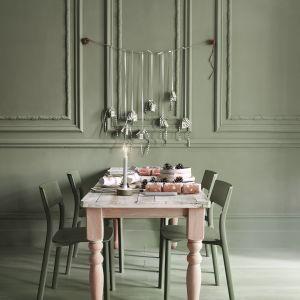 Użyta farba:  Chateau Grey, Old White, Scandi Pink,  Olive. Fot. Annie Sloan