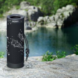 Głośnik SRS-XB23 będzie można nabyć od sierpnia 2020 r. w wersji czarnej, niebieskiej, czerwonej, brązowoszarej i zielonej. Na zdj. głośnik XB23 Sony