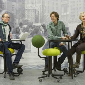 Kolekcja siedzisk stworzonych głównie do celów komercyjnych - Globe Concept. Cena siedziska: ok. 4 tys. zł/Globeconcept.se