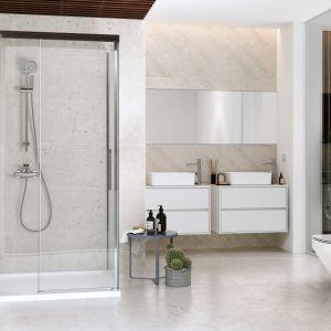 Drzwi przesuwne do kabiny prysznicowej Crea 140x200. Cena 1.839 zł. Fot. Cersanit