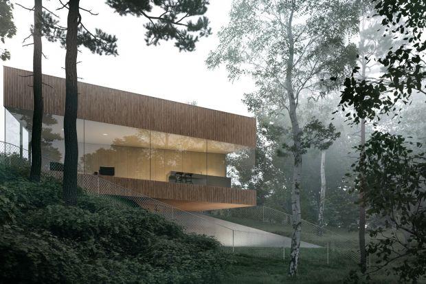 Ten dom miał powstać dla inwestorów, którzy chcieli mieć przyrodę na wyciągnięcie ręki. Jego autorzy,Magdalena Tokarskai Piotr Tokarski z pracowni architektonicznej TTAT stworzyli projekt, któryzapewnia mieszkańcom optymalne środowisko d