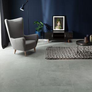Płyty gresowe Torano inspirowane surowym cementem. Wykończenie płytek jest matowe, mają gładką powierzchnię i są odporne na mróz. Cena: ok. 120 zł/m2 (60x60 cm), ok. 140 zł/m2 (80x80 cm). Fot. Tubądzin