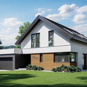 Prosta, energooszczędna bryła przykryta dachem dwuspadowym jest ekonomiczna w budowie i późniejszej eksploatacji. Szacunkowy koszt budowy: 249.783 zł (stan surowy zamknięty). Projekt wykonano w Pracowni HomeKONCEPT