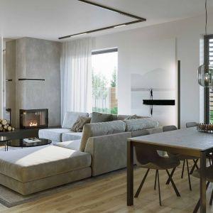 Dom HomeKONCEPT 72 G2 zaprojektowano z myślą o komforcie pięcioosobowej rodziny. Szacunkowy koszt budowy: 249.783 zł (stan surowy zamknięty). Projekt wykonano w Pracowni HomeKONCEPT
