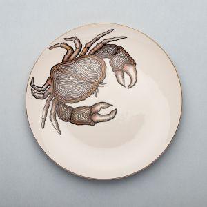 Nowa kolekcja hiszpańskiej porcelany Micucci Interiors, ręcznie malowana. Piękne zwierzęce wzory. Fot. Micucci Interiors