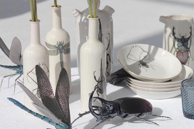 Ważka, jelonek rogacz, krab, rozgwiazda czy ośmiornica - to bohaterowie najnowszej kolekcji porcelany studia z Hiszpanii.Znakomitypomysł nie tylko miłośników zoologii!
