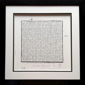 Czajkowski Piotr, Trocadero z cyklu METRO, 45 x 45 cm, 2500 zł, rysunek