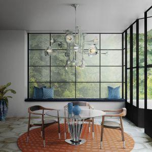 Trendy kolorystyczne 2020 roku - zieleni, zgaszone pomarańcze w towarzystwie bieli i naturalnych roślin. Fot. Essential Home
