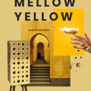 Mellow Yellow - nasycony odcień żółtego wrócił do nas razem z modą na wnętrza w stylu vintage. Fot. Essential Home
