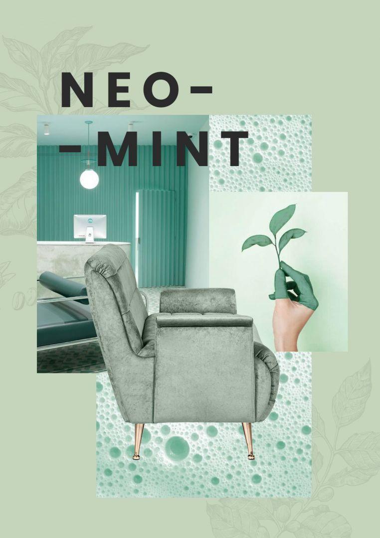 Kolor mietowy doskonale współgra z innymi odcieniami zieleni. Fot. Essential Home