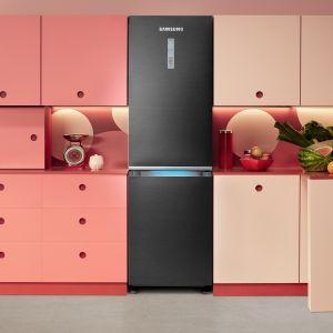 W lodówkach Samsung technologia Space Max™ umożliwiła zredukowanie grubości ścianek urządzenia.