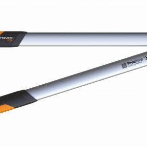 Sekator dźwigniowy, kowadełkowy L PowerGearTMX. Dzięki mechanizmowy zwiększającemu trzykrotnie siłę cięcia, praca narzędziem jest wyjątkowo komfortowa. Dostępny w ofercie firmy Fiskars. Cena: ok. 115 zł. Fot. Fiskars