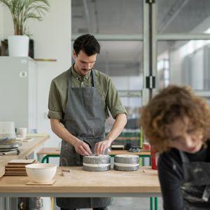 MANUBA 2020 zaprojektowali i wykonali: Kamila Niedzwiedzka, Dominika Kulczyńska i Mateusz Peringer z Zakwas Studio oraz Agata Nowak.