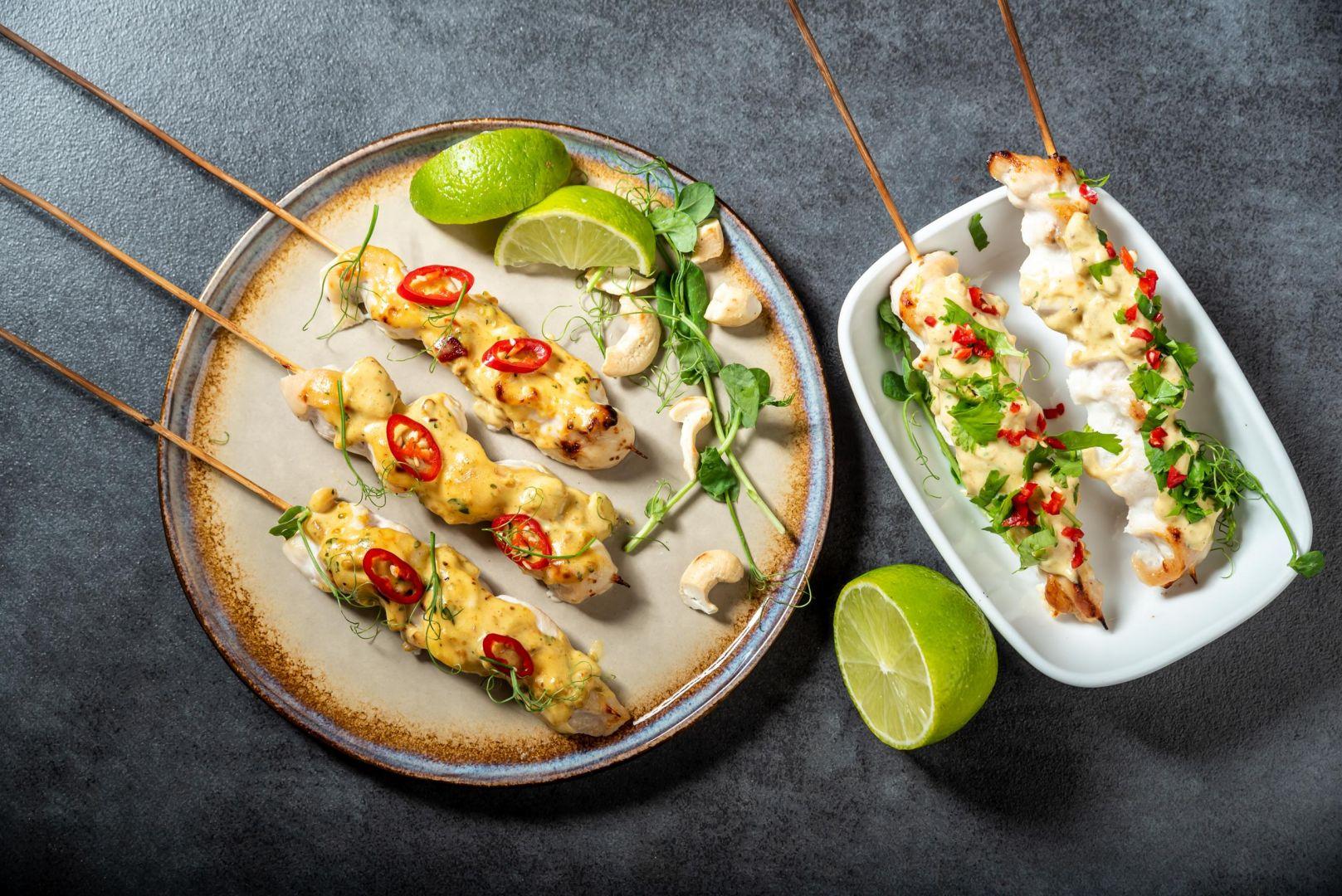 Szaszłyki curry. Fot. Knorr