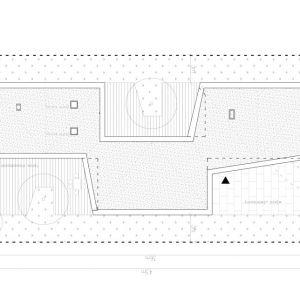 Projekt z Tarasami - układ tarasów. Projekt: Domy z Głową, Pracownia Architektury Głowacki