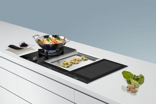 Płyty grzewcze typu domino to nowy sposób na zorganizowanie profesjonalnej kuchni we własnym domu.