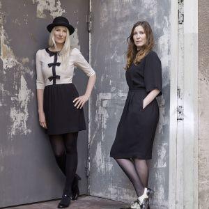 Sofia Lagerkvist i Anna Lindgren tworzą szwedzkie biuro projektowe Studio Front. Fot. Lena Modigh