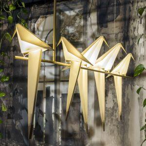 Lampy Perch to majstersztyk projektu Umuta Yamaca dla marki Moooi. Zatrzymany w czasie obrazek natury celebrującej życie. Cena: od ok 15 tys. zł (sklep Mesmetric.com). Fot. Moooi