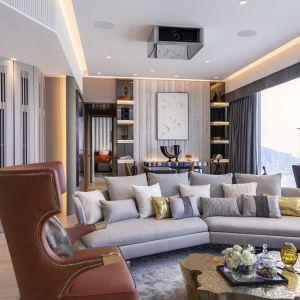 Inspiracją do zaprojektowania tego wnętrza był design luksusuowych jachtów. Projekt: Cameron Interiors. Fot. mat. prasowe Brabbu