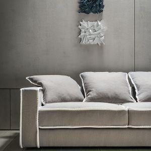 Modułowa kanapa Pillopipe Evo Green to projekt uznanej światowej designerki, Paoli Navone i część nowej kolekcji 2020 marki Casamilano