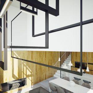 Nowoczesne minimalistyczne oświetlenie. Projekt wnętrza: Adam Zwierzyński i Anna Porębska z pracowni MUS Architects