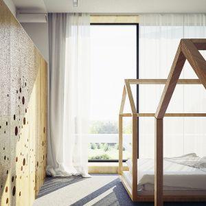 Pokój dzieci. Projekt wnętrza: Adam Zwierzyński i Anna Porębska z pracowni MUS Architects