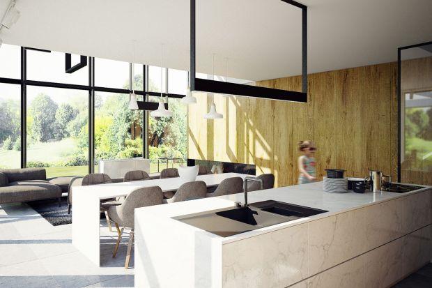 Za projekt tego spektakularnego wnętrza o powierzchni aż 240 m2 odpowiadają Adam Zwierzyński i Anna Porębska z pracowni MUS Architects. Zobaczcie ich pomysł!